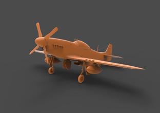 p-51 mustang norte american nosotros la usaf p51 f51 f51d f-51 p-51 mustang la aeronave militar luchador avión plano ataque bombardero de la hélice la cabina motor