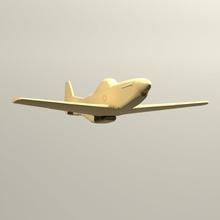 p51d mustang design3d model3d pla descargable stl avión mustang aeromodel p51