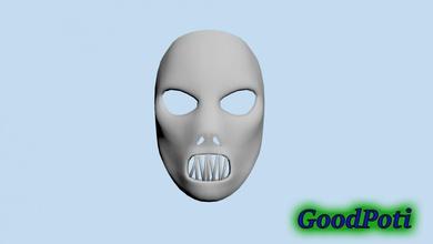 Pablo gris máscara Pablo gris máscara nudo corredizo 1996 música hombre chico casco dedrick metal banda 3ds obj stl impresión impresión 3d nu juegos