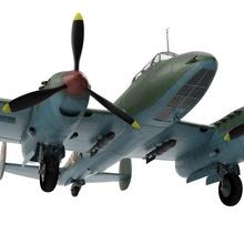 petlyakov pe-2 petlyakov pe pe-2 war vray realistic bomber light plane military soviet retro vintage attack
