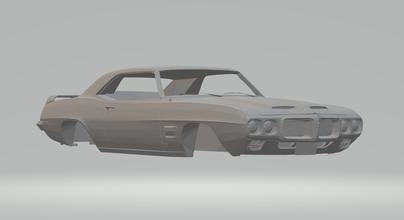 pontiac firebird trans hotwheels diecast scx slot car slotcar race stl printable gm firebird rcmodel