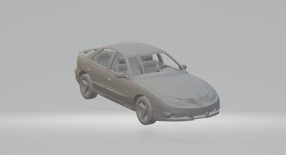 pontiac sunfire diecast miniatures rcmodel rc model slot slotcar car hotwheels maisto scale scx gto gm sedan pontiac oldsmobile cavalier buick skylark