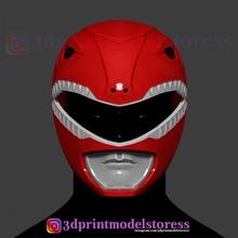 red ranger mighty morphin power ranger helmet cosplay stl file power power-ranger red-ranger mighty-morphin mighty-morphin-helmet mighty-morphin-cosplay cosplay-helmet halloween-helmet-cosplay halloween-mask superman ironman-helmet captain-american comic-con-cosplay mask-3d power-ranger-red stl-file 3d-print-helmet 3d-print-cosplay