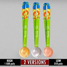rio olympic medal sport pack olympic championships champions winner medals trophy award summer games athletic athletes gold silver bronze stadium ceremony