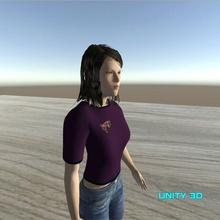 seo ahin 2 animated female npc seo-ahin-2 animated-female-npc low-poly-character animated-3d-model game-ready game-asset female-npc civilian-female-npc animated-game-asset