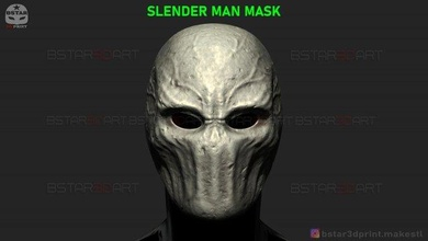 slender man mask - horror scary mask - halloween cosplay 3d print model tooth-mask horror-mask scary-mask halloween-cosplay horror-mask-collection killer-mask the-killer-mask evil-nightmare-mask firday13th monster-mask devil-mask satan-mask hallowen-cosplay halloween halloween-toys halloween-collection party-mask party-hallween hlw-mask