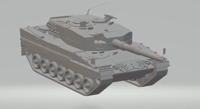 tank leopard- german hotwheels diecast scx slot car slotcar stl printable rcmodel body navy war cod