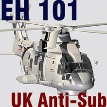 uk navy eh-101 merlin anti-submarine helicopter c4d ehi hm1 eh 101 mk111 carrier battleship wayship lsu hubschrauber marine hlicoptre
