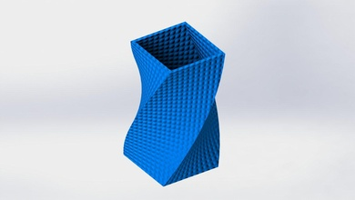 vase twist 3d printer design interiordesign 3dprinters gadgets