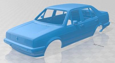 volkswagen jetta 1984 printable body car volkswagen jetta mk2 printable body car slot scalextric tamiya rc radio control shell  vintage 1984