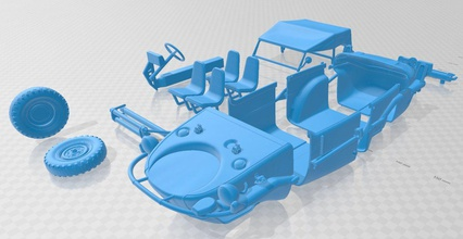 Volkswagen Schwimmwagen 1942 imprimible Volkswagen Schwimmwagen 1942 imprimible espacio scalextric Tamiya rc miniz pasatiempo micro tractor