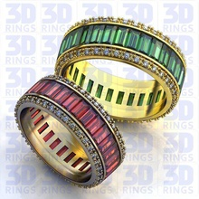 wedding ring 237 wedding ring wax models jewelry 3d milling molding jeweler production