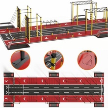 workout street sport scs-202 horizontal bar sports ground playground exercise equipment workout bars rokkhod physical education street sport