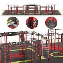 workout street sport sfg horizontal bar sports ground playground exercise equipment workout bars rokkhod physical education street sport