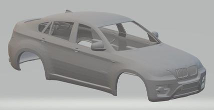 x6 e71 printable body car x6 e71 printable body car slot scalextric tamiya rc 1-10 1-14 1-24 1-32
