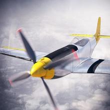 p51-d mustang 3dlabprint avión Rc avión Impreso en 3d de aviones spitfire mk xvi