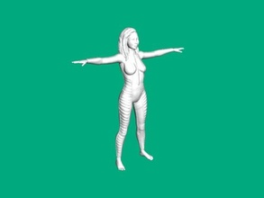 diving suit free 3d model - download obj file Toys People
