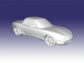 mazda mx-5 miata free 3d model - download stl file Toys Machinery