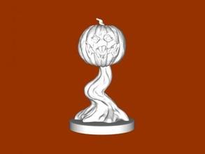 live pumpkin free 3d model - download stl file Toys Cartoons
