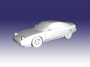 nissan 240sx free 3d model - download stl file Toys Machinery