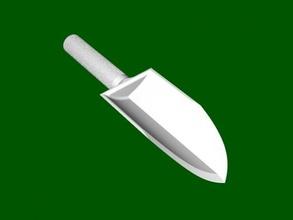 garden scoop free 3d model - download stl file Home Accessories
