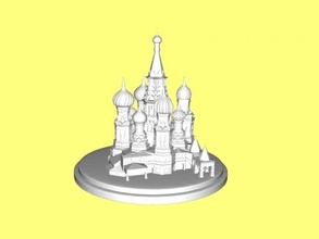 cathedral building free 3d model - download stl file Art Architecture
