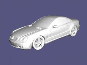 mercedes benz sl 65 amg gratis 3d modelo descargar stl expediente juguetes maquinaria