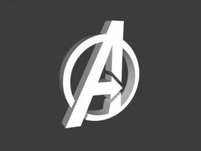 avengers logo free 3d model - download stl file Toys Films avengers logo free 3d model - download stl file Toys Films