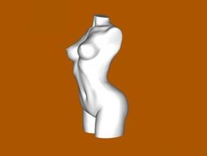 wonderful bust free 3d model - download stl file Art Sculpture wonderful bust free 3d model - download stl file Art Sculpture