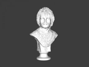 bust tyrion free 3d model - download stl file Toys Films bust tyrion free 3d model - download stl file Toys Films