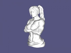muscular bust free 3d model - download stl file Toys People muscular bust free 3d model - download stl file Toys People
