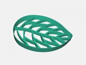 leaf soap dish free 3d model - download stl file Home Bathroom leaf soap dish free 3d model - download stl file Home Bathroom