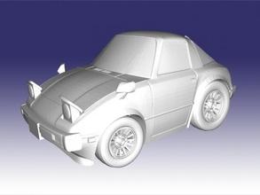 mazda rx-7 free 3d model - download stl file Toys Machinery mazda rx-7 free 3d model - download stl file Toys Machinery