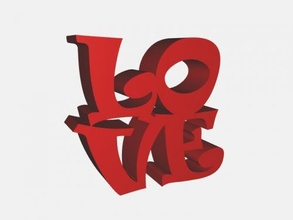 2 love inscriptions free 3d model - download stl file Home Accessories