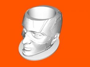 bowl captain america free 3d model - download stl file Home Kitchen
