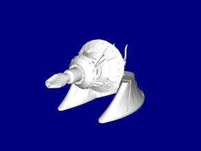 geonosian turret free 3d model - download stl file Toys Games