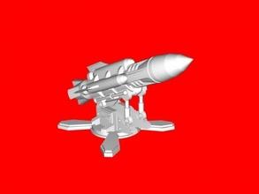 missile launcher platform free 3d model - download stl file Toys Games