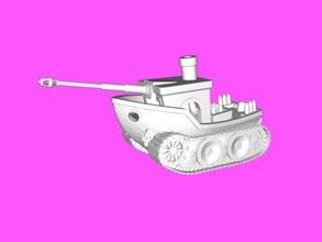 hybrid free 3d model - download stl file Toys Machinery