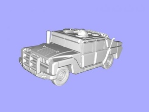 sci fi hummer free 3d model - download stl file Toys Machinery