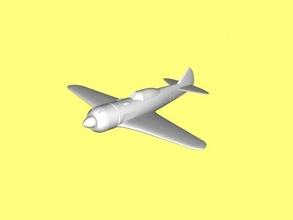la-7 free 3d model - download stl file Toys Machinery