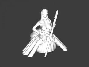 spider girl free 3d model - download stl file Toys Cartoons