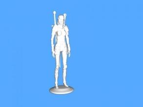 slender knight free 3d model - download stl file Toys People
