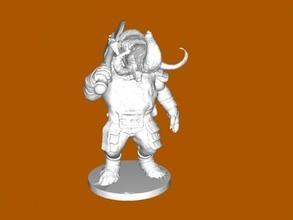 woolly loxodon free 3d model - download stl file Toys Games
