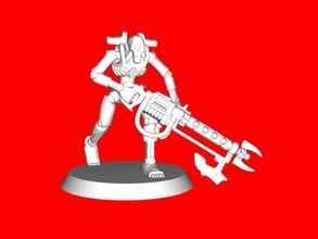 necron warrior free 3d model - download stl file Toys Games