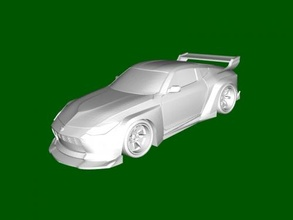 nissan fairlady 2004 free 3d model - download stl file Toys Machinery