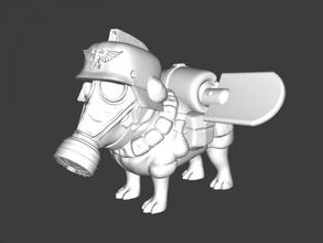 pug shovel free 3d model - download stl file Toys Animals