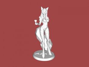 ahri libre modelo 3d - descargar archivo stl Los juguetes Juegos mago de la naturaleza de la liga de leyendas archivo stl