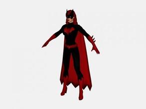 batwoman free 3d model - download obj file Toys Games avenger dc universe online obj file