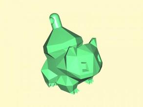 bulbasaur llavero gratis modelo 3d - descargar archivo stl De la moda Accesorios monstruo verde de dibujos animados archivo stl