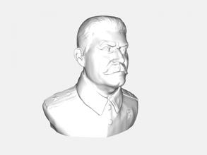 busto di stalin gratuita modello 3d - scaricare il file stl Art La scultura iosif vissarionovich stalin file stl